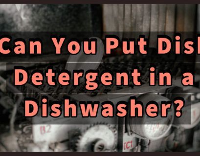 Can You Put Dish Detergent in a Dishwasher? [Yes, with caution]
