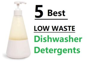 best low waste dishwasher detergents
